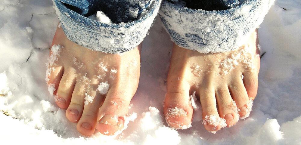 Kouden voeten dé oplossing